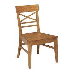 Blake Wood-Seat Side Chair ,  , large