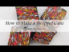 How to Make a Stroppel Cane - YouTube