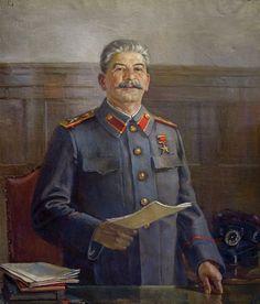 Сталин . Joseph Stalin, Historia Universal, Socialist Realism, Russian Revolution, Soviet Art, Red Army, Interesting History, World History, World War Two
