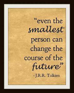 Change the future.