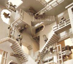 m c escher | Escher en LEGO's - Taringa!