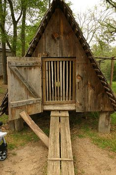 rustic chicken coop!
