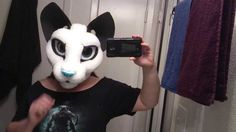 I'm trying my hand at a toony Siamese kitty. Also expanding upon a base idea that seems to be working out really well so far. This is my first toony foam mask and so far things seem to be going good. As soon as I finish up a dragon partial I am working on, I'll be furring this one. Will give me a little more time to decide on colors. ^_^ **pale blue resin nose by Dream Vision Creations, I only added some more color to it.