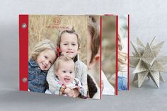 Family Classic Holiday Minibook™ Cards by Design Lotus at minted.com