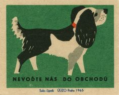 czechoslovakian matchbox label 2