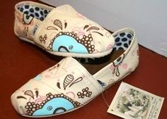 Paint Your Own Tom Shoes at blowfish emporium - Historic Downtown Bristol Blog - Believe in Bristol TN / VA