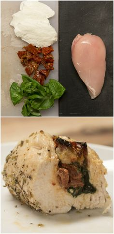 Sun-Dried Tomato Stuffed Chicken