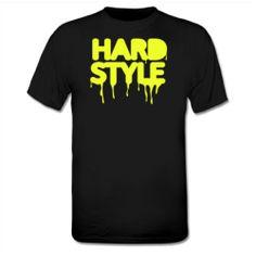 T-Shirt: Techno | Jumpstyle | Hardstyle [neon yellow]