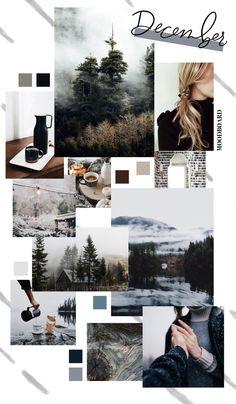 December Background Monthly Goals 2018 Moodboard S Scheme Color, Color Schemes Colour Palettes, Collage Design, Collage Art, Pastel Wallpaper, Wallpaper Backgrounds, Grey Wallpaper, Iphone Wallpaper, Instagram Prints