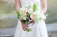 Memory locket on brides bouquet Jennie & Andrew | Stevenson Ridge Wedding » Carley Rehberg Photography