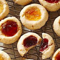 Peanut Butter and Jelly Polvorones