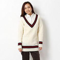 Amazon.co.jp: マックレガー クラシック(McGREGOR CLASSIC) チュニック(チルデンニットチュニック): 服&ファッション小物通販