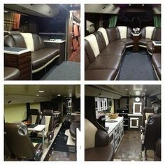 their tour bus is nicer than my house