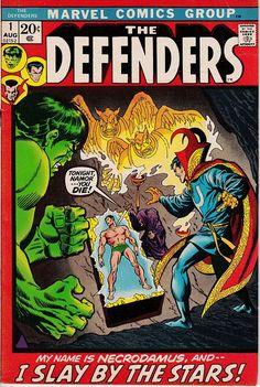Defenders 1 1972 1st Series August 1972 Marvel Comics Grade