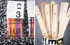 teacher appreciation gifts back to school party crayons rulers