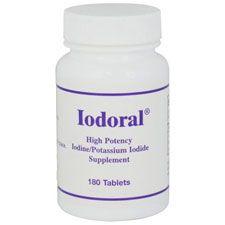 Iodoral 12.5 mg, 180 Tablets, Optimox