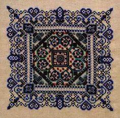 Lovers' Garden (cross stitch)
