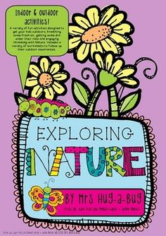 Get your kids outdoors, breathing some fresh air and with dirt under their nails!   This 'Exploring Nature' pack has over 25 pages of fun indoor and outdoor activities that will have your students enthusiastically engaging with Nature. Design and assemble a 'Nature walk field kit', then choose from a variety of outdoor experiences….