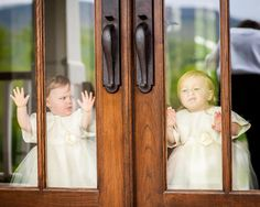 Making faces: http://www.stylemepretty.com/2015/09/04/smp-wedding-bloopers-kid-edition/