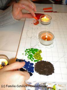 dibujos con crayolas de colores de niños - Buscar con Google