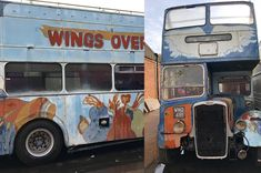 The 1972 Wings Tour Bus Wings Tour, Rock And Roll, Tours, Crafts, Manualidades, Rock Roll, Rock N Roll, Handmade Crafts, Craft