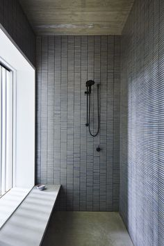 Amazing 33 Stunning Black Bathroom Shower Design Ideas That You Need To Copy Bathroom Layout, Modern Bathroom, Small Bathroom, Master Bathroom, Bathroom Mirrors, Budget Bathroom, Laundry In Bathroom, Bathroom Renovations, Washroom