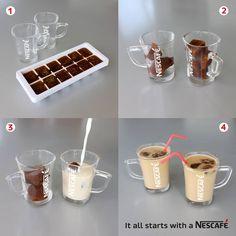 Kaffee-Eiswürfel für leckeren #Eiskaffee #NESCAFE
