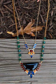 Heiress Necklace in Black - $30