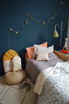 All by Camomile London - love the little house cushions <3