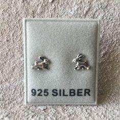 925-Silber Ohrstecker Kreuz Echt Silber Neu