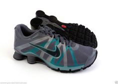Nike Shox Roadster running shoes sneakers for men - Cool Grey   Teal  Nike   e2730d9d2ded