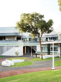 Middle Girls School, Penleigh and Essendon Grammar. Designed by McBride Charles Ryan. Photo – Annette O'Brien for The Design Files.