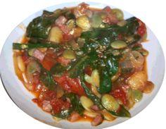 """La Scafata , anche detta """" baggiana """" è un'antico piatto umbro tradizionalmente preparato nel periodo primaverile , cioè quando sono disponibili le verdure di stagione che la compongono"""