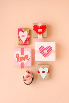Valentine Present Toppers