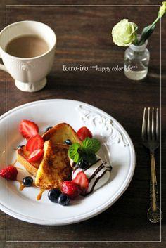 トイロイロ ***happy color life***-おやつフレンチトースト