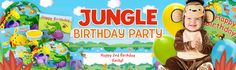 kids jungle birthday party pictures | Jungle Party | Jungle Birthday Party Supplies & Decorations at ...