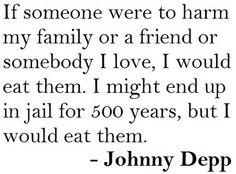 Johnny Depp, a strange yet wonderful individual