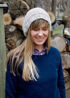 Simple and quick, the Simple Vanilla Hat is your basic knit hat pattern. There's nothing fancy about this pattern, just luscious yarn and straightforward stitching. It's that simplicity that makes beginning knitting so easy.