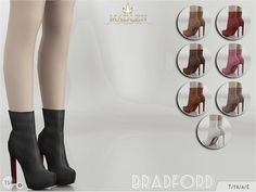 Sims 4 CC's - The Best: Boots by MJ95