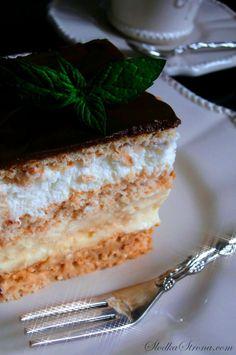 """Ciasto """"3 Bit"""" - Bez Pieczenia - Przepis - Słodka Strona Tiramisu, Cook, Ethnic Recipes, Tiramisu Cake"""