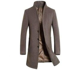 Wool Stylish Coat (5 colors)