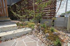 砂利こんなのがいい Exterior, Gallery, Flowers, Plants, Outdoor, Gardening, Design, Space, House