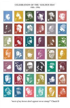Stamps of Lyrical Geniuses
