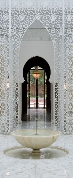 Moroccan Beauty and Well Being Centre Royal Mansour Marrakech Moroccan Art, Moroccan Interiors, Moroccan Design, Moroccan Style, Moroccan Bedroom, Moroccan Lanterns, Patio Interior, Interior And Exterior, Interior Design