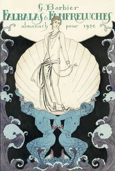 """""""Falbalas et Fanfreluches"""" by George Barbier 1924"""