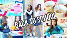Back To School Study Tips + DIY Study Party (Yummy Snacks & Spa Station!)