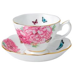 Royal Albert - Miranda Kerr Friendship Teacup ... Could you imagine sipping your tea from such a gorgeous cup? :D