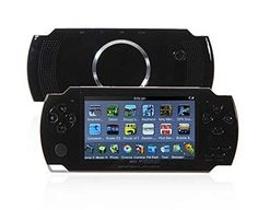 4.3' 4GB MP3/MP4/MP5 Media Game Player (TV-Out,FM Radio,PC Camera,TF Card Supported)-Black