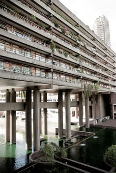"""Barbican, London - """"An architectural and urban planning marvel. I'm enthralled b. - Barbican, London – """"An architectural and urban planning marvel. I'm enthralled by its history - Art Et Architecture, Concrete Architecture, Cultural Architecture, Urban Planning, Brutalist, Urban Landscape, Parks, History, Building Museum"""