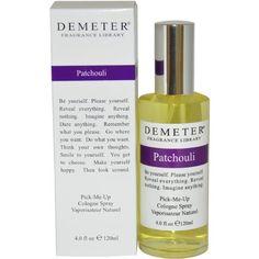 Patchouli Cologne Spray Women by Demeter, 4 Ounce Demeter https://www.amazon.com/dp/B004VIXSN8/ref=cm_sw_r_pi_dp_x_TrRtybDNMP4KJ